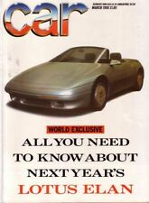 March Monthly Cars, 1980s Transportation Magazines