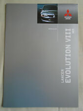 Mitsubishi Lancer Evolution VIII MR Folleto de mayo de 2004