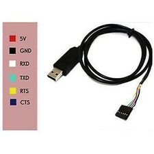 6pin FTDI FT232RL USB to TTL Serial cable Converter Adapter fOR Arduino UNO R3