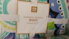 Pottery Barn Teen Kennedy Paisley twin quilt  + 1 standard sham New