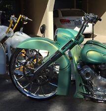 Harley Davidson Road King Stretched raked Nacelle & Cap Flhp Bagger
