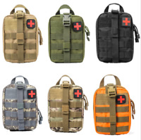 New Durable First Aid Kit Tactical Survival Molle Rip-Away EMT Pouch Bag Medical