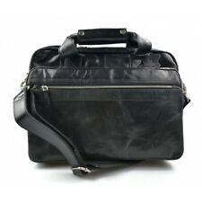 0af3e64ebf Cartella pelle valigetta 24 ore borsa pelle a mano tracolla borsa ufficio  nero
