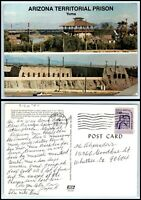 ARIZONA Postcard - Yuma, Arizona Territorial Prison A23