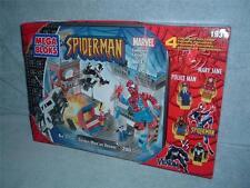 SPIDER-MAN vs VENOM Mega Bloks 1931 Collectors Edition Jane Police Sealed 2004