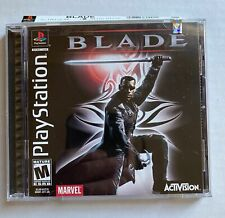 Marvel's Blade Sony Playstation PS1 Activision 2000 Nice CIB Complete-In-Box