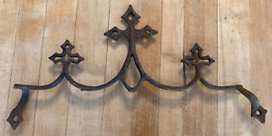 Beautiful Vintage Gothic Cast Iron Fence Topper Finial