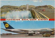 FLUGHAFEN KOLN / BONN - AIRPORT - VEDUTINE - LUFTHANSA - AEROPORTO (GERMANIA)