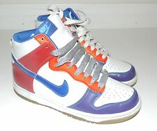 Youth Nike Colorful Sparkly High Top Shoes Size 5.5Y Women's 6.5