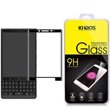 Khaos For Blackberry KEY2 3D Full Cover Tempered Glass Screen Protector -Black
