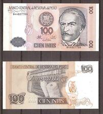 Peru - 1987 - Bankbiljet - 100 INTIS - UNC