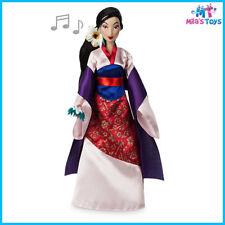 "Disney Mulan Singing 11 1/2"" Doll brand new in box"