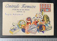 Buvard Centrale Fermière / Camembert / Maroilles / Beurre /  Douai / Blotter