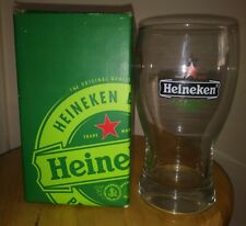Heineken Beer Mug Alcohol Pottery Large Thick Wide Glass Cup Original Brewery