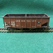 Vintage Ulrich (USA) HO Scale All Metal Lehigh Valley 2 Bay Hopper Car #25001