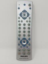 Genuine Philips Universal 3 Device TV DVD CBL Remote Control OEM CL015 Silver