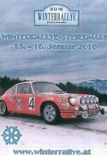 RALLYE - SPORT RoadBook Winterrallye Steiermark 2016