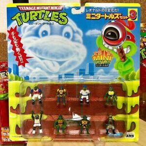 New turtles figure mini turtles set 3 Teenage mutant ninja Japan