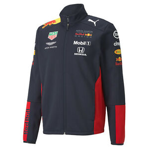 Formel 1 Aston Martin Red Bull Racing Herren Team Softshelljacke 2020 von Puma
