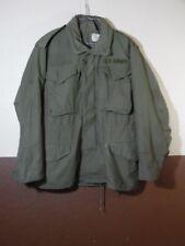 VTG Vietnam M65  OG-107 Sateen Field Jacket Small Short