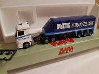 Actros  Nijman  Zeetank int. Transport Ltd.   St. Helens England Glastransport