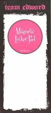 "Twilight Team Edward Magnetic Locker Note Pad 60 Sheets 9"" Fridge Magnet List"