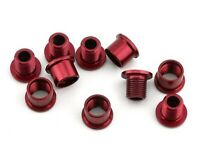 ANSWER ALLOY CHAINRING BOLT FOR SINGLE CHAINRING BMX RED