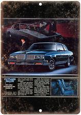"1985 Oldsmobile Cutlass 10"" x 7"" Reproduction Metal Sign"