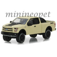GREENLIGHT 35110 E ALL TERRAIN 2016 FORD F-150 with BAJA TIRE CARRIER 1/64 BEIGE