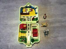Pokémon Center + 3 Figurines Mini Monde Style Polly Pocket NINTENDO TOMY 1997