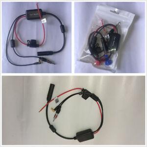 Universal Car Vehicle AM FM + DAB+Digital Radio Signal Amplifier Booster 12-24V