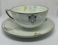 Rosenthal Selb Bavaria Sanssouci Tea Cup & Saucer Holographic