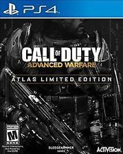 PS4 Call of Duty Advanced Warfare Atlas Limited Edition FACTORY SEALED (41-A1)