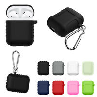 For Apple AirPods Shockproof Silicone Skin Waterproof Splash Protective Case