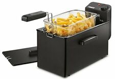 Freidora Princess 182727 Deep Fat Fryer negra – zona