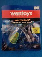 Vintage Toy - ROCKET HUNTER -Wentoys Spaceship Push And Go / Bubble Opened
