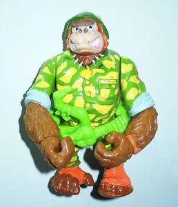 Teenage Mutant Ninja Turtles TMNT Sergeant Bananas Guerrilla Gorilla 1991 Figure
