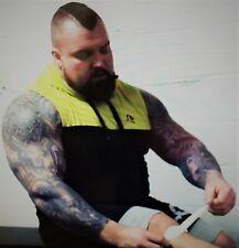 Eddie Hall Adjustable Patella Tendon Strap Knee Support Band weight wrap