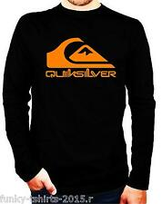 CAMISETA MANGA LARGA  QUIKSILVER,ELEMENTS, ION
