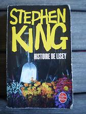 LIVRE  * HISTOIRE DE LISEY  *  de STEPHEN KING !!