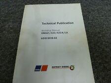Mercedes Benz OM421 OM423 Diesel Engine Workshop Manual CD ROM OM422