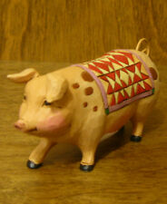 Jim Shore Heartwood Creek Minis #4026881 PIG, NEW From Retail Store  2.25""