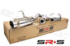 SRS Acura RSX 02-06 Type-S  FULL STAINLESS STEEL CATBACK SYSTEM T-304 SR*S