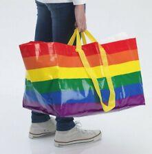 Fast Shipping���🌈Sup port Lgbt! Buy Large Ikea Kvanting🌈Rainbow Gay Pride Bag