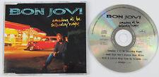 BON JOVI Someday I'll Be Saturday Night CD single UK 1995 Mercury JOVCX15 DiscNM