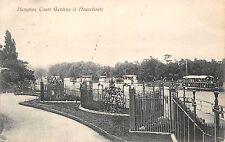 BR64608 hampton court gardens and houseboats   uk