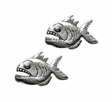 Piranha Cufflinks