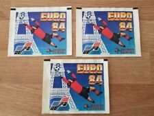 Panini Euro 84 Original Sealed Set of 3 Packets - Excellent Condition