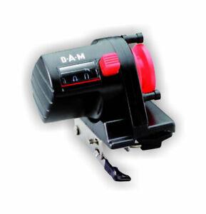 DAM Tiefenzähler Schnurzähler Tiefenmesser Line Counter in m bis 999