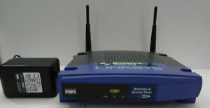 Linksys WAP54G v.2 Access Point Tested and Working w/ Antennas and Power Adapter